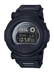 Casio G-Shock Digital Watch for Men With Resin Band, Water Resistant and Chronograph, G-001BB-1DR, Black