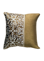 OraOnline Augusta Off White Decorative Cushion/Pillow, 40x40 cm
