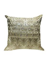 OraOnline Lisa Beige Decorative Cushion/Pillow, 40x40 cm