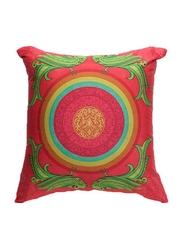 OraOnline No. 39 Multicolor Decorative Cushion/Pillow, 40x40 cm