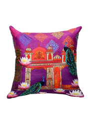OraOnline No. 34 Multicolor Decorative Cushion/Pillow, 40x40 cm