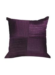 OraOnline Kyrah One Purple Decorative Cushion/Pillow, 40x40 cm