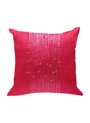 OraOnline Delphi Pink Decorative Cushion/Pillow, 40x40 cm