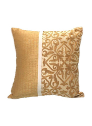 OraOnline Augusta Beige Decorative Cushion/Pillow, 40x40 cm