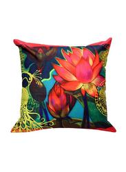 OraOnline No. 4 Multicolor Decorative Cushion/Pillow, 40x40 cm