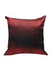 OraOnline Plain Red Decorative Cushion/Pillow, 40x40 cm