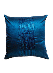 OraOnline Delphine Blue Decorative Cushion/Pillow, 40x40 cm