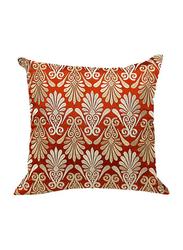 OraOnline Enlighten Rust Decorative Cushion/Pillow, 40x40 cm