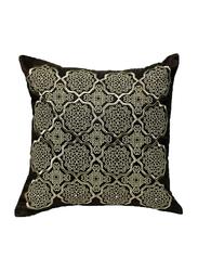 OraOnline Alizia Brown Decorative Cushion/Pillow, 40x40 cm