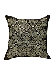 OraOnline Alizia Brown Decorative Cushion/Pillow, 40x40 cm