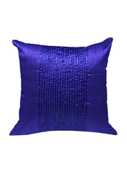 OraOnline Delphi Purple Decorative Cushion/Pillow, 40x40 cm