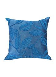 OraOnline Amondi Turquoise Decorative Cushion/Pillow, 40x40 cm