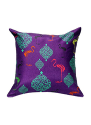 OraOnline No. 55 Multicolor Decorative Cushion/Pillow, 40x40 cm