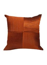 OraOnline Kyrah One Orange Decorative Cushion/Pillow, 40x40 cm