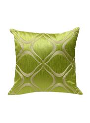 OraOnline Aari Lime Decorative Cushion/Pillow, 40x40 cm