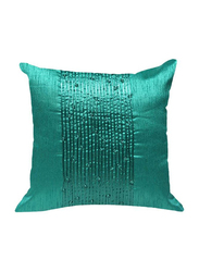 OraOnline Delphi Turquoise Decorative Cushion/Pillow, 40x40 cm