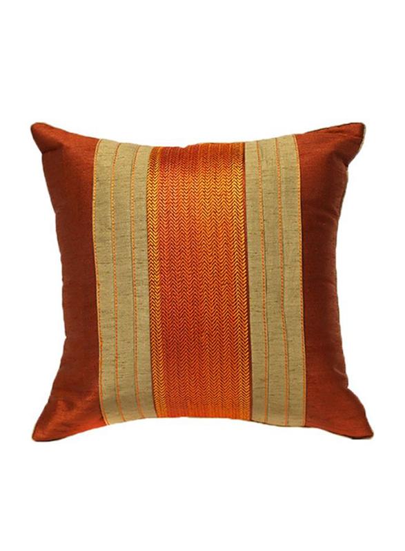 OraOnline Agatha Rust Decorative Cushion/Pillow, 40x40 cm