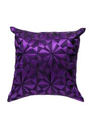 OraOnline Lucido Purple Decorative Cushion/Pillow, 40x40 cm