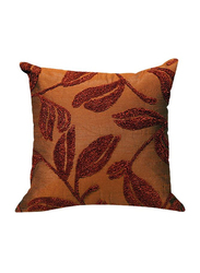 OraOnline Amondi Orange/Rust Decorative Cushion/Pillow, 40x40 cm