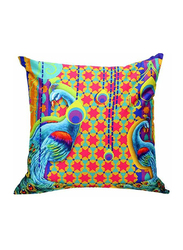 OraOnline No. 3 Multicolor Decorative Cushion/Pillow, 40x40 cm