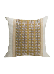 OraOnline Alice Off White Decorative Cushion/Pillow, 40x40 cm