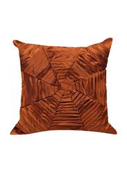 OraOnline Kyrah Two Orange Decorative Cushion/Pillow, 40x40 cm