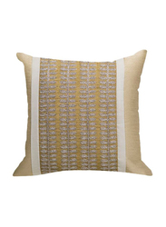 OraOnline Alice Beige Decorative Cushion/Pillow, 40x40 cm