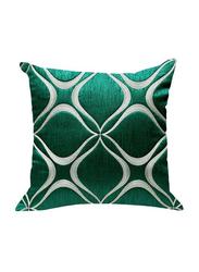 OraOnline Aari Turquoise Decorative Cushion/Pillow, 40x40 cm