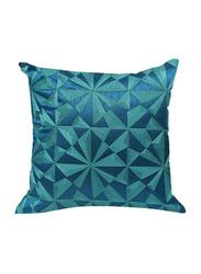 OraOnline Lucido Blue Decorative Cushion/Pillow, 40x40 cm