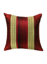 OraOnline Agatha Maroon Decorative Cushion/Pillow, 40x40 cm