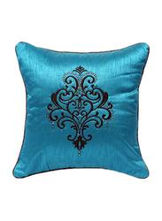 OraOnline Indian Turquoise Decorative Cushion/Pillow, 40x40 cm