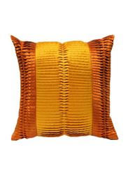 OraOnline Poetica Yellow/Orange Decorative Cushion/Pillow, 40x40 cm