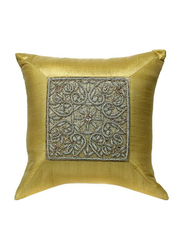 OraOnline Elite Cream Decorative Cushion/Pillow, 40x40 cm
