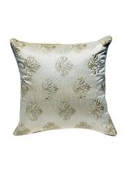 OraOnline Emporio Off White Decorative Cushion/Pillow, 40x40 cm