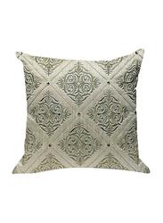 OraOnline Florenza Off White Decorative Cushion/Pillow, 40x40 cm