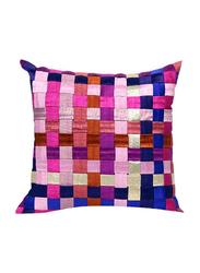 OraOnline Matrix SQ Purple/Pink Decorative Cushion/Pillow, 40x40 cm