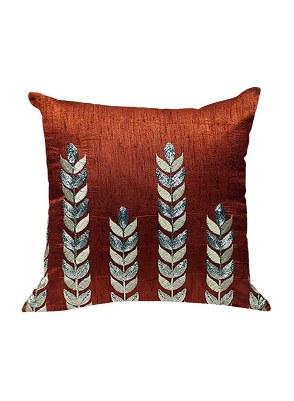 OraOnline Amelia Rust Decorative Cushion/Pillow, 40x40 cm