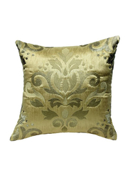 OraOnline Celia Beige Decorative Cushion/Pillow, 40x40 cm