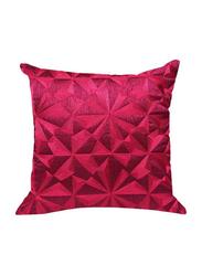 OraOnline Lucido Pink Decorative Cushion/Pillow, 40x40 cm
