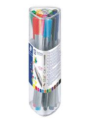 Staedtler Triplus Fineliner Pen Set, 12-Pieces, Multicolour