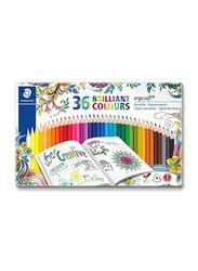 Staedtler 36-Piece Color Pencil Set, 157 M36JB ST, Multicolour