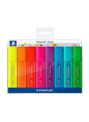 Staedtler 8-Piece Textsurfer Highlighter Pen Set, Multicolour