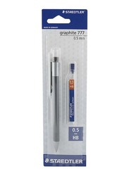Staedtler Graphite 777 Mechanical Pencil with Lead, Black