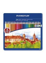 Staedtler 24-Piece Color Pencil Set, ST-145-CM24, Multicolour
