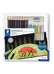 Staedtler 17-Piece Design Journey Color Pencil Set, ST-61149C, Multicolour