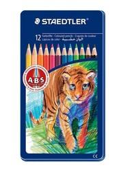 Staedtler Wooden Colored Pencil Set, 12-Piece, Multicolour