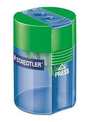 Staedtler Double Hole Tub Sharpener, Blue/Green