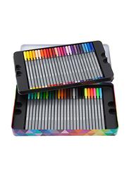Staedtler Triplus Fineliner Pen Set with Metal Tin Containing, 50 Pieces, Multicolour