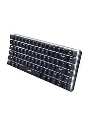 Ajazz AK33 Mechanical LED Wired Gaming English Keyboard, Black/White