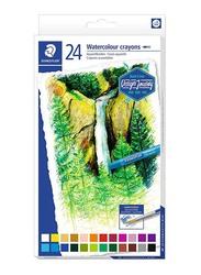 Staedtler Watercolour Crayons Set, 24-Piece, Multicolour